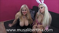 Lesbian anal submission with my Blondie Fesser bunny (LezDom by Musa Libertina)