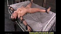 Rag doll Jynx fucked and suspended pt 1 Thumbnail