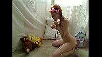 Teen Redhead Hottie Masturbates For Cam at 21oc...