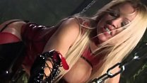 Demanding blonde Cindy Behr orders her slave no...