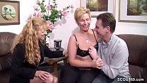 German Big Tit MILF Seduce Real Couple to Fuck
