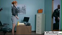 Hard Sex Tape In Office With Big Round Tits Sex...
