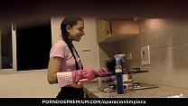 OPERACION LIMPIEZA - Beautiful maid Matilde Ram... Thumbnail
