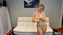 Lisey Sweet Makes Good on Her Football Bet to I...