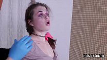 Naughty girl is brought in anal assylum for pai...