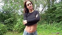 GERMAN SCOUT - Instagram Fitness Teen Model aus Köln bei Strassen Casting für Geld gefickt thumbnail