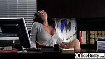 Hard Sex Action In Office With Busty Naughty Gi...