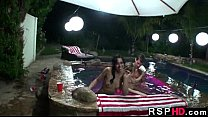 Best orgy scene ever Annie Lee, Courtney Page, Kaci Starr, Teagan Summers 7