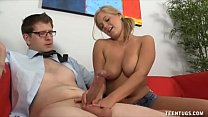 Anabelle Pync Loves Stroking Thick Meaty Rods