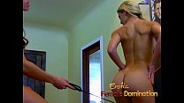 Drag queen spanked by his dominatrix in a hot femdom session-6