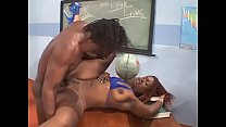 Stunning woman student throats teacher's dick a...