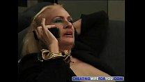 Blonde Mature Kathy Jones Enjoys Sucking and Fu...