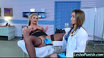 Sexy Lesbo Get Punish With Dildos By Mean Lez (...
