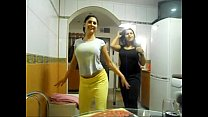 Sexy 2 arab girls boobs show pussy show Thumbnail