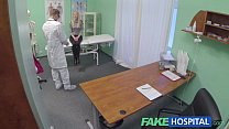 Fake Hospital Hot blonde gets the full doctors treatment Thumbnail