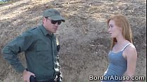 Gypsy redheaded beauty fucks police across the ...
