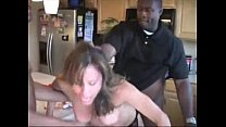 Wende - wife forced by blacks in kitchen