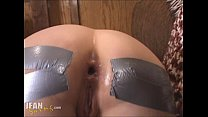 Duct Tape Anal Creampie