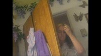 Mom Shower Hidden Cam's Thumb