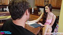 Horny brunette Zoe Wood gets nailed Thumbnail