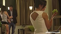 Download video bokep Hot babe shared by two guys, double penetration... 3gp terbaru