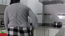 Fucking while making food in the kitchen IV001