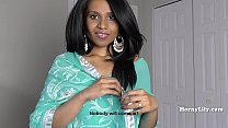 HornyLily giving jerk off instructions in Tamil with English subtitiles