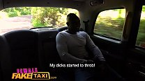 Female Fake Taxi Horny Ava Austen can't resist a big thick black cock Thumbnail