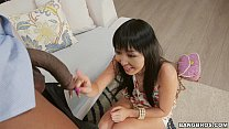 Shy Japanese Girl Marica Hase Gets Monsters of Cock Anal (mc15033) Thumbnail
