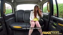 Fake Taxi Horny redhead hottie in filthy taxi s...
