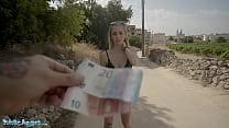 Public Agent Cute Spanish Blonde Lya Missy Fuck...