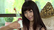 Asian Cosplay Pornstar Marica Hase Rubs Her Hairy Pussy With Penis Lollipop Thumbnail