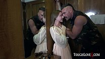 TOUGHLOVEX Laney Grey gets fucked hard on a cru...