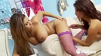 Gemma Massy, Krystal Webb and Charlie Monaco Ha...