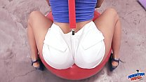 Amazing Ass and Cameltoe Teen Gets Fingered. As...