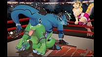 Jasonafex the Dragon getting ass-fucked in boxi... Thumbnail