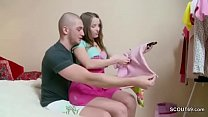Bro Caught Step-sister and Creampie her Tight P...