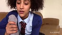 Schoolgirl Footjob & BJ Thumbnail