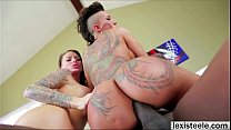 Hunk director Lex enjoys threesome with his ladies