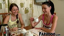 Fit BFFs Having A Sensual And Wet Massage