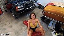 Roadside - Car Guru MILF Fucks Her Car Mechanic