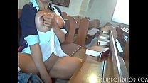 Horny German Amateur Pleasing Herself In A Church