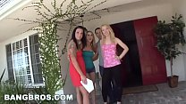 BANGBROS - Amber Ashlee, Aria Aspen, and Nicki ...