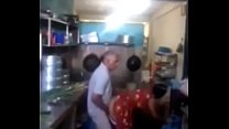 Srilankan chacha fucking his maid in kitchen qu... Thumbnail