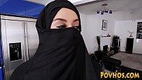 Muslim busty slut pov sucking and riding cock i... Thumbnail