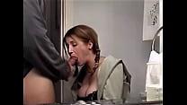 sexy mom sucking big cock & swallowing jizz's Thumb
