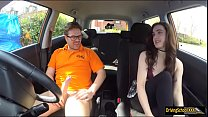 Lola Rae boned by her driving instructor Thumbnail