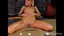 Dirty girl plays for Daddy