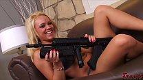 Hot Beauties With Big Guns