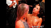 Hot party full of hung ripped studs and goluptious chicks